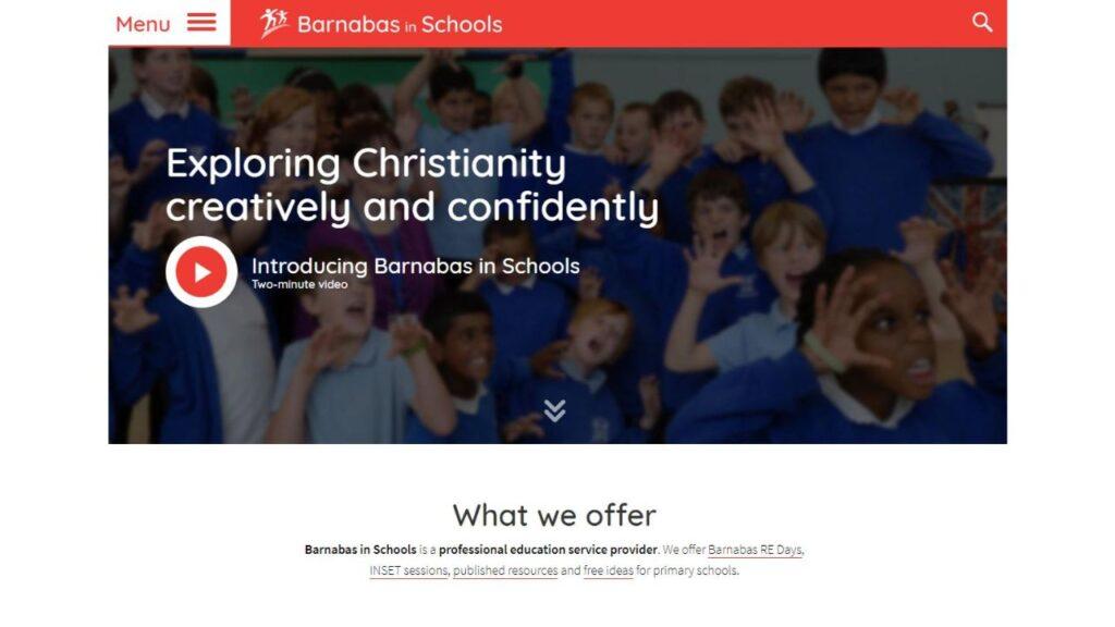 Barnabas in Schools screenshot