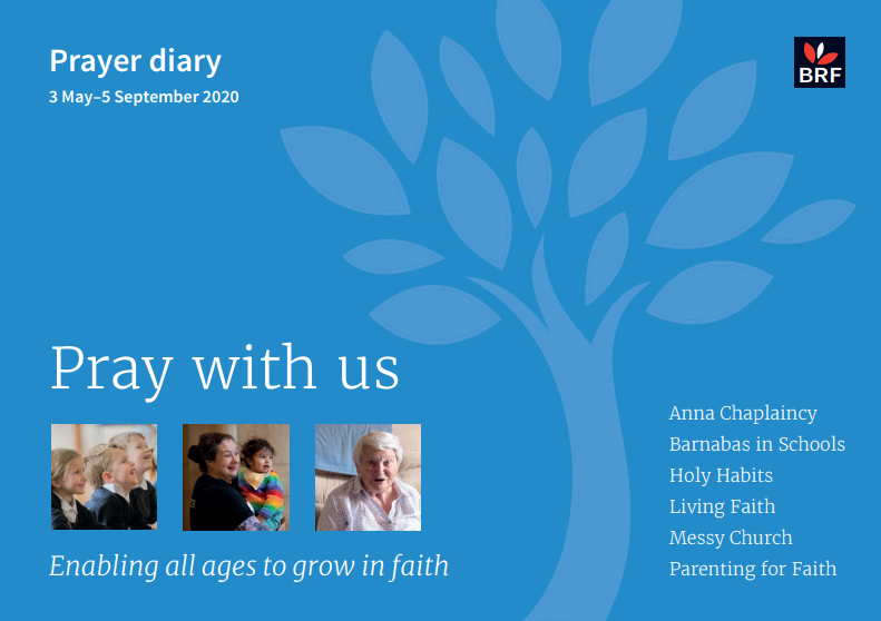 Prayer Diary front cover