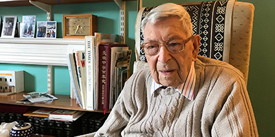 Bob Weighton at 111