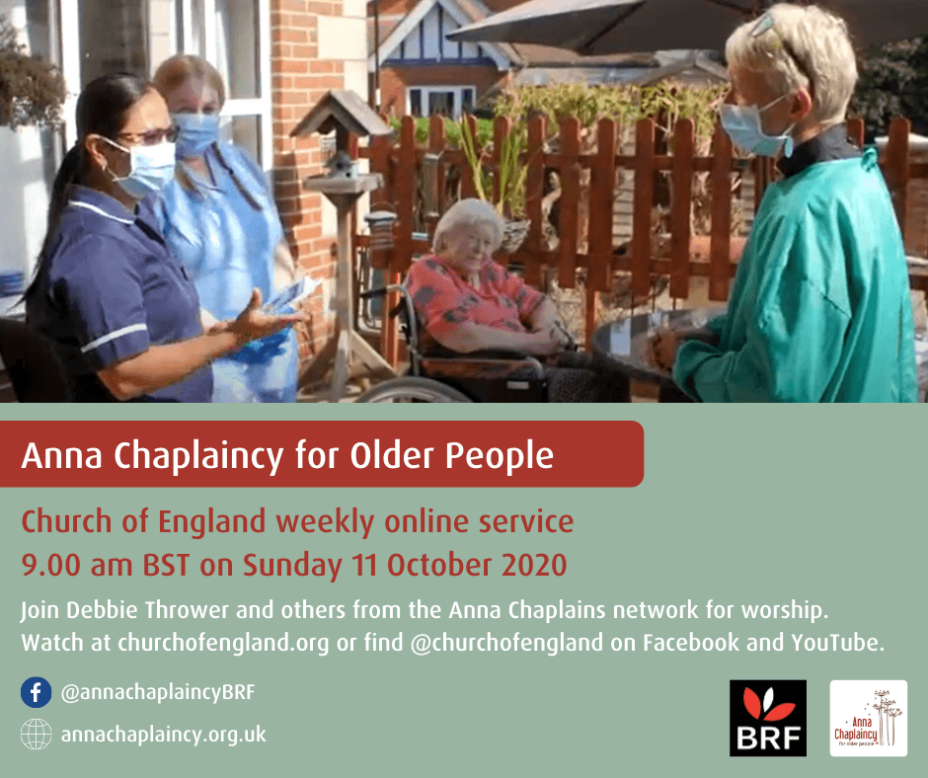 Anna Chaplaincy service October image