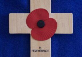 A Remembrance Cross