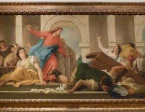 Art - Jesus and the money changers