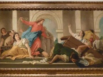 Art - Jesus and the money changers