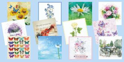 BRF's range of Everyday cards