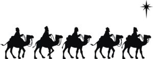 Nativity Story with camels