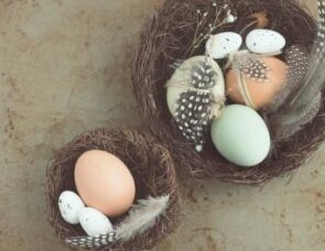 Talking about Easter: Easter eggs and new life
