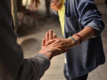 The Good Samaritan: helping others