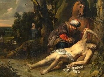 The Good Samaritan: showing compassion