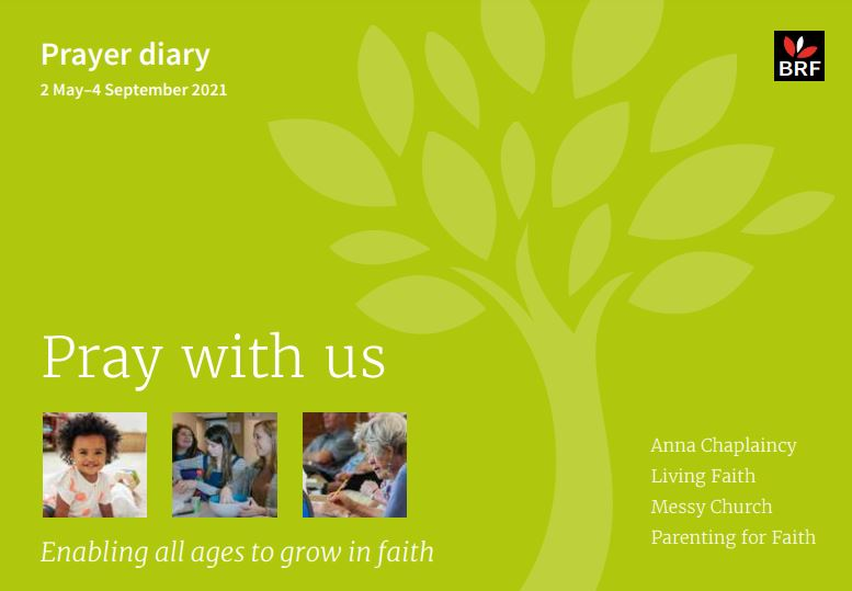 Front page image of the prayer diary May - Sep 2021