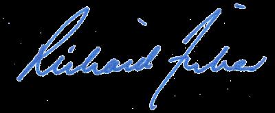 Richard Fisher signature