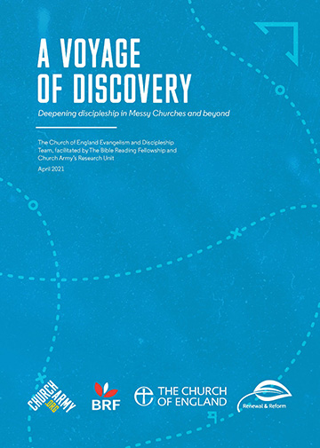A Voyage of Discovery report front page