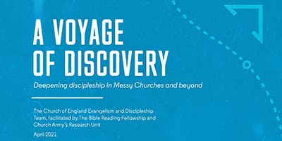 A Voyage of Discovery report cover title