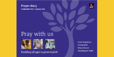 BRF Prayer Diary Autumn 2021 front cover