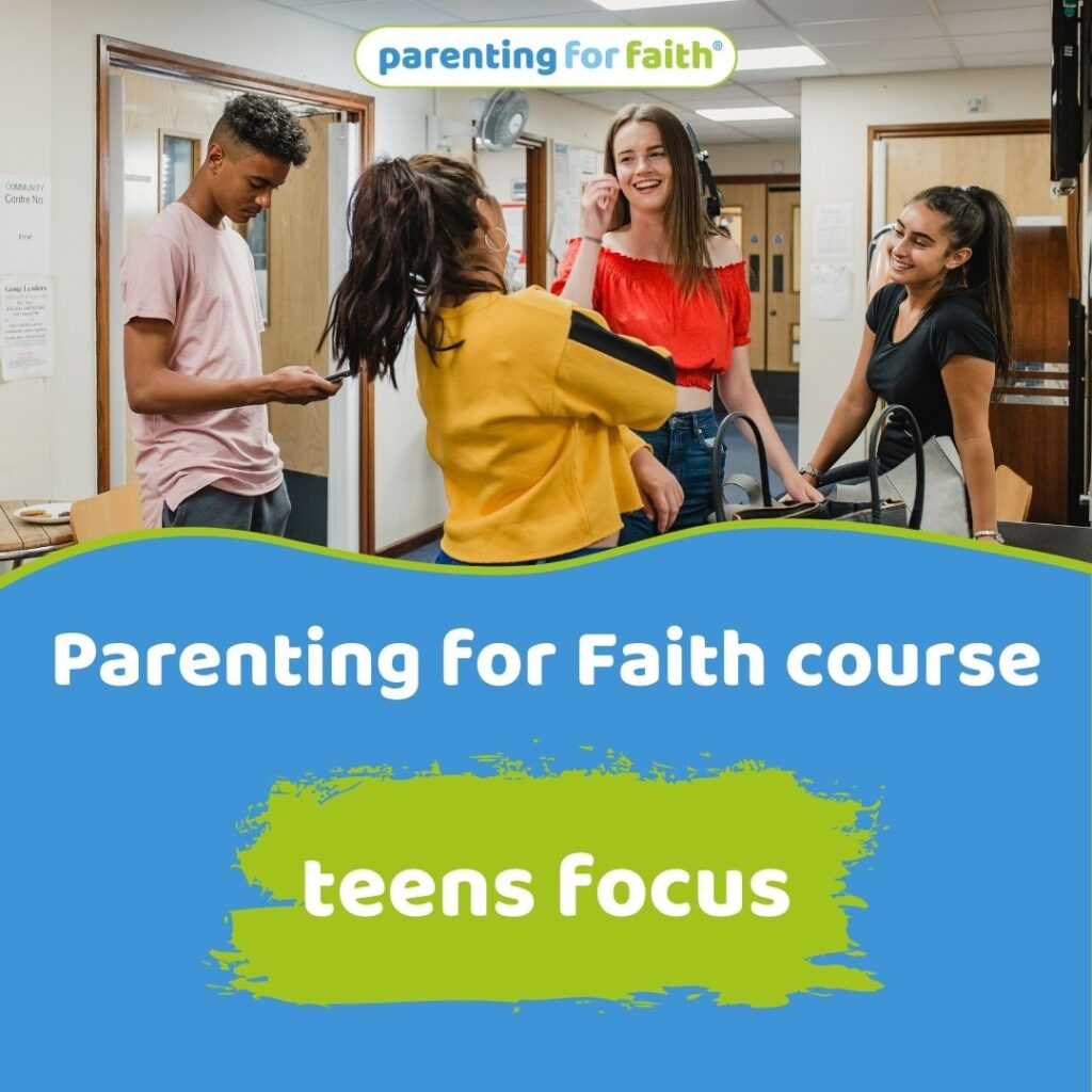 Parenting for Faith course teen focus image